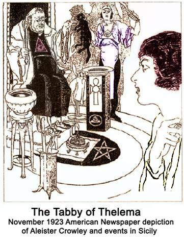 The Tabby of Thelema — Aleister Crowley and events in Sicily