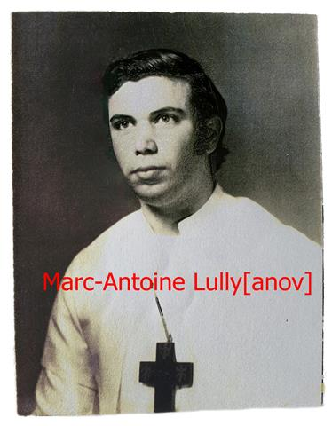 Marc-Antoine Lully Choronzon Club QBL Alchemist Church Spiritual Church Theosophical Lodge - Ordo Templi Orientis Antiqua
