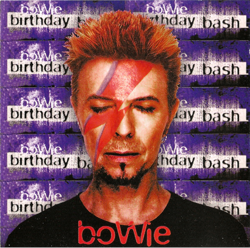 David Bowie, Birthday Bash, Madison Square Garden, New York, January 9 1997