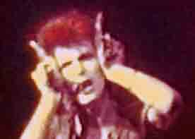 David Bowie plays Devil Ziggy Stardust