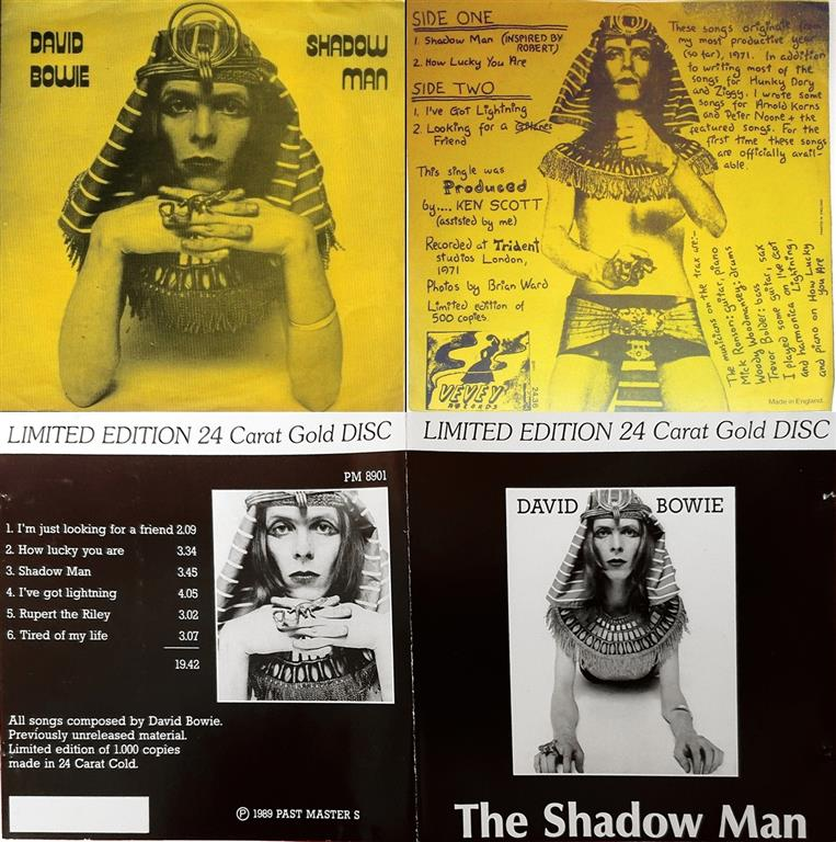 David Bowie � The Shadow Man � 1984, 1989