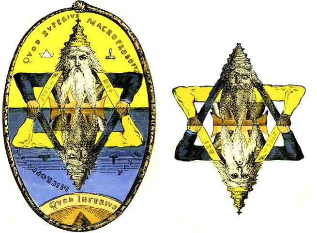 Carl Kellner and the original Baphomet of the pre — Ordo Templi Orientis Inner Triangle — Eliphas Levi Talisman Seal