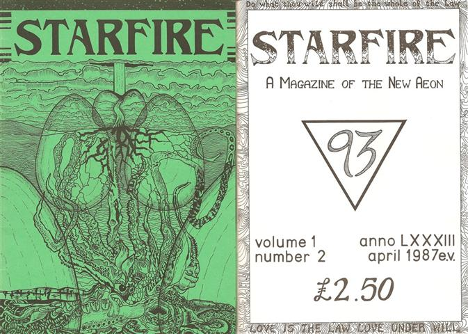 Starfire - Magazine of the Typhonian Order - 1-2