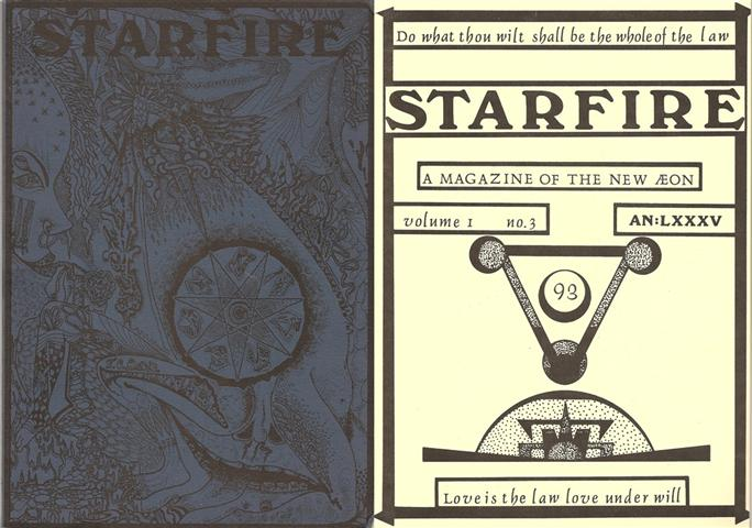 Starfire - Magazine of the Typhonian Order - 1-3