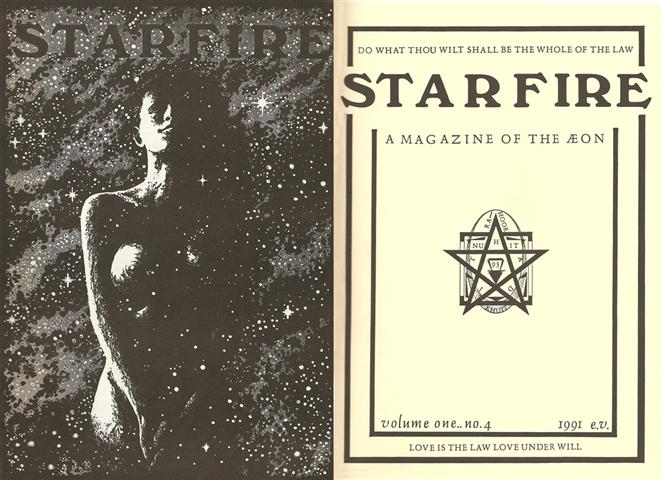 Starfire - Magazine of the Typhonian Order - 1-4