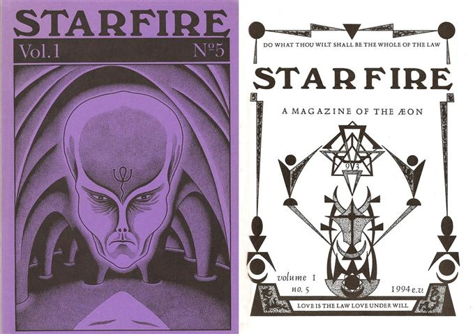 Starfire - Magazine of the Typhonian Order - 1-5