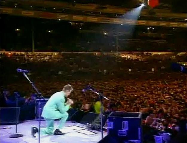 Bowie Lords Prayer Freddie Mercury Tribute Concert for AIDS Awareness