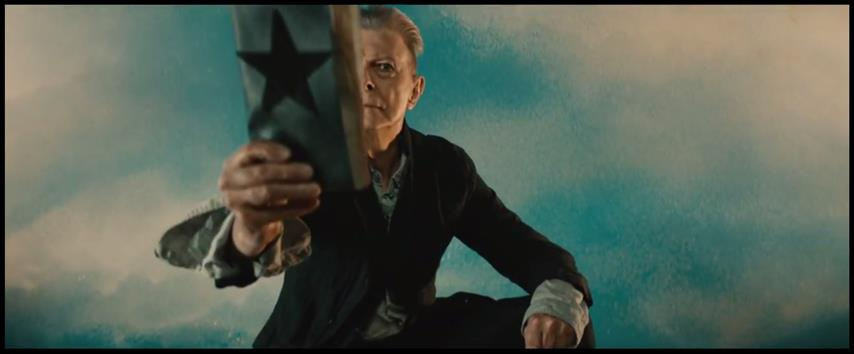 David Bowie Blackstar occult pentagramm
