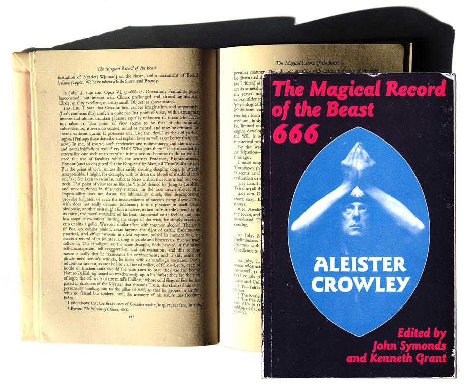 John Symonds and Kenneth Grant The Magical Record of the Beast 666 The Diaries of Aleister Crowley 1914–1920 London 1972
