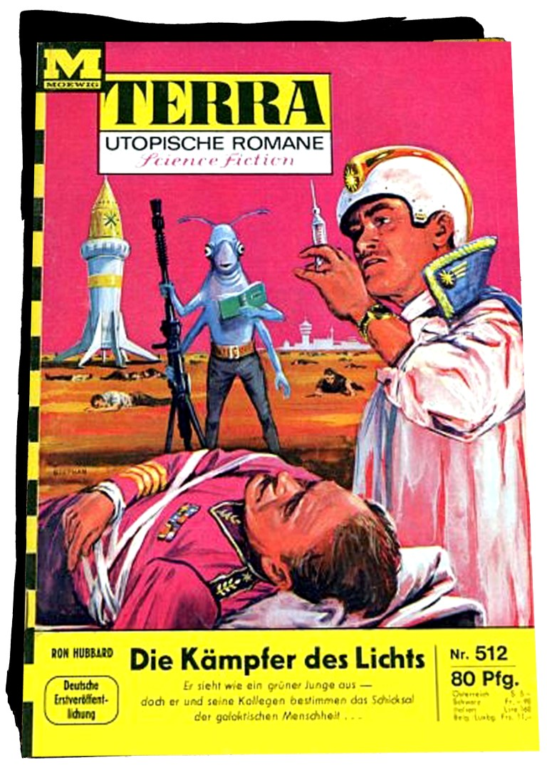 L. Ron Hubbard - Scientology - Kämpfer des Lichts - Plague - science fiction - fantasy