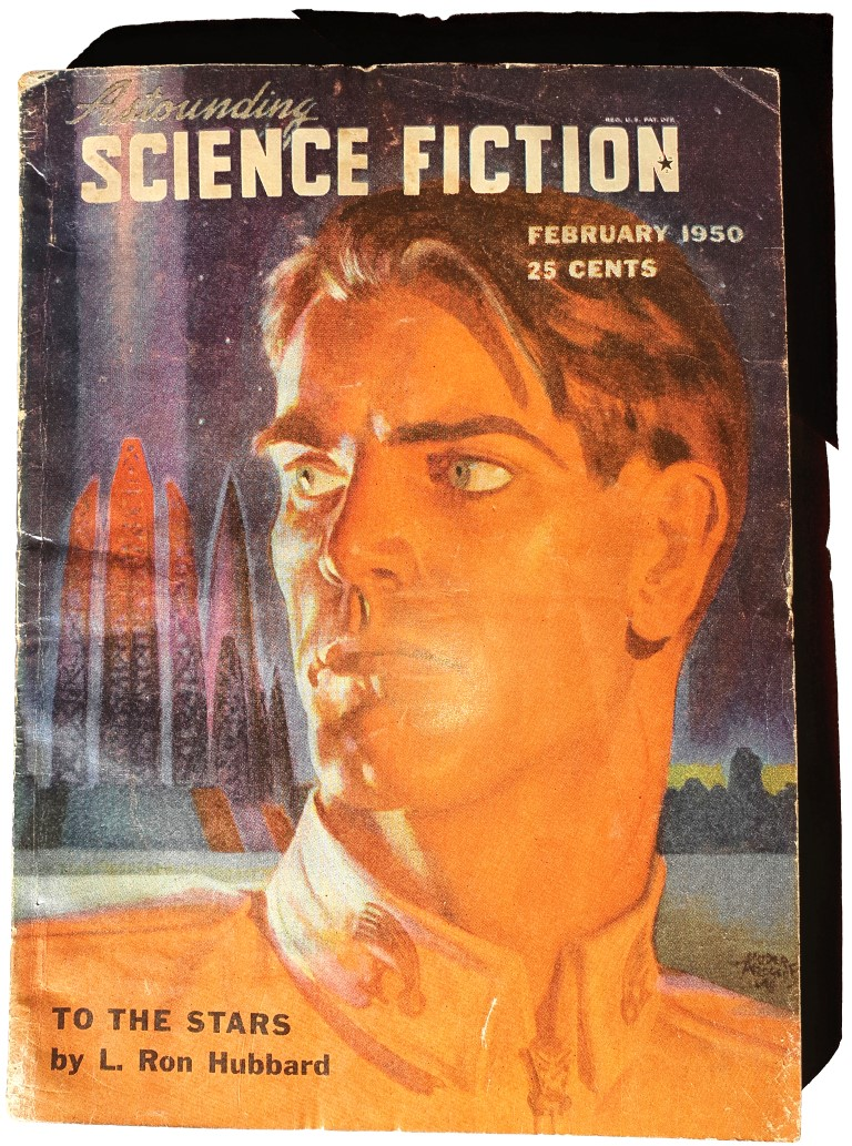Astounding Science Fiction 44,6 Lafayette Ron Hubbard To The Stars February 1950 Scientology Dianetics