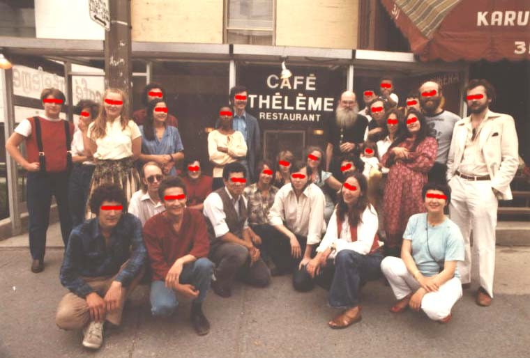 Cafe Thelem Thelema in Montreal — Ordo Templi Orientis in Canada
