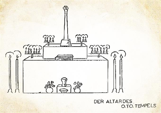 O.T.O. temple seen by the Fraternitas Saturni