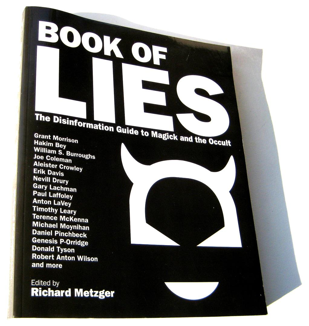 Halo Of Flies Richard Metzger Book Of Lies Genesis Breyer P-Orridge Phil Hine William S. Burroughs Erik Davis Nevill Drury Anton LaVey Timothy Leary Robert Anton Wilson Vere Chappell Stephen Flowers