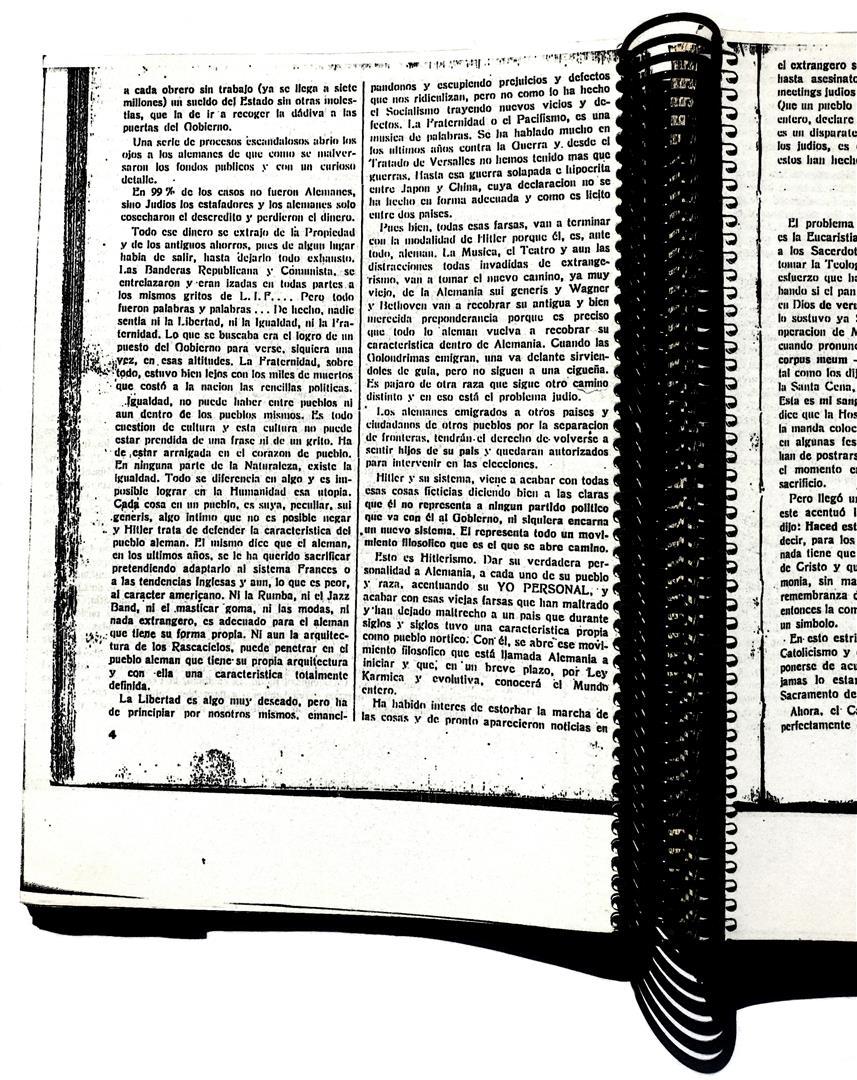 Rosa-Cruz VII;1, 27.4.33, Arnoldo Krumm-Heller, Hitlerianismo