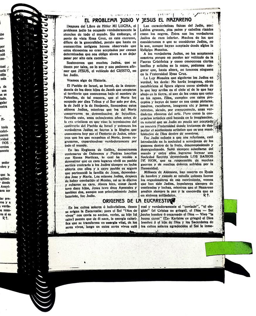 Rosa-Cruz VII;10, 27.1.34, Arnoldo Krumm-Heller, El Problema Judio y Jesus el Nazareno