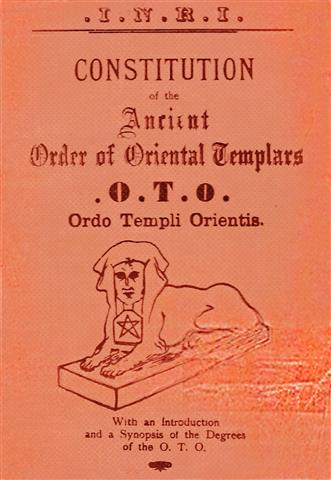 1917 Theodor Reuss O.T.O. Constitution