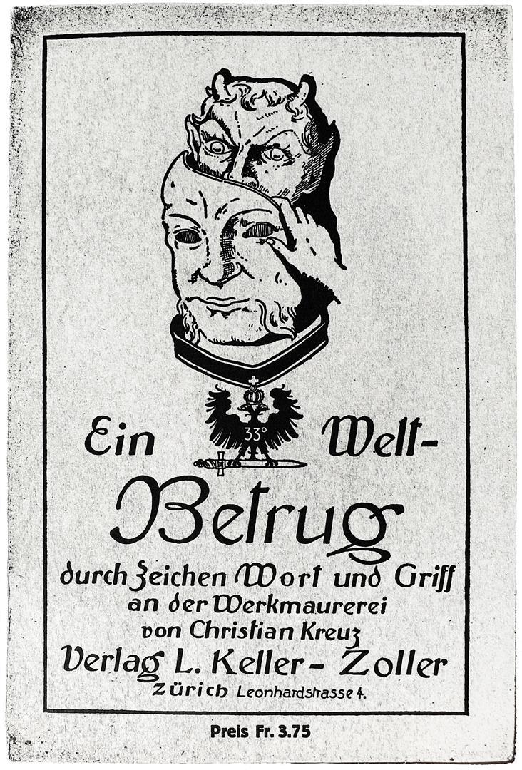 Christian Kreuz — Baron Ernst Theodor Herbert von Bommsdorff-Bergen