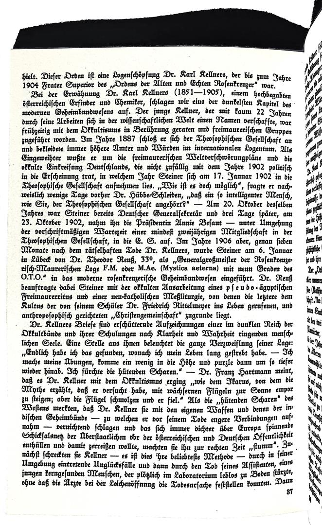 Jean Paar, S. Ipares, Geheime Weltmächte