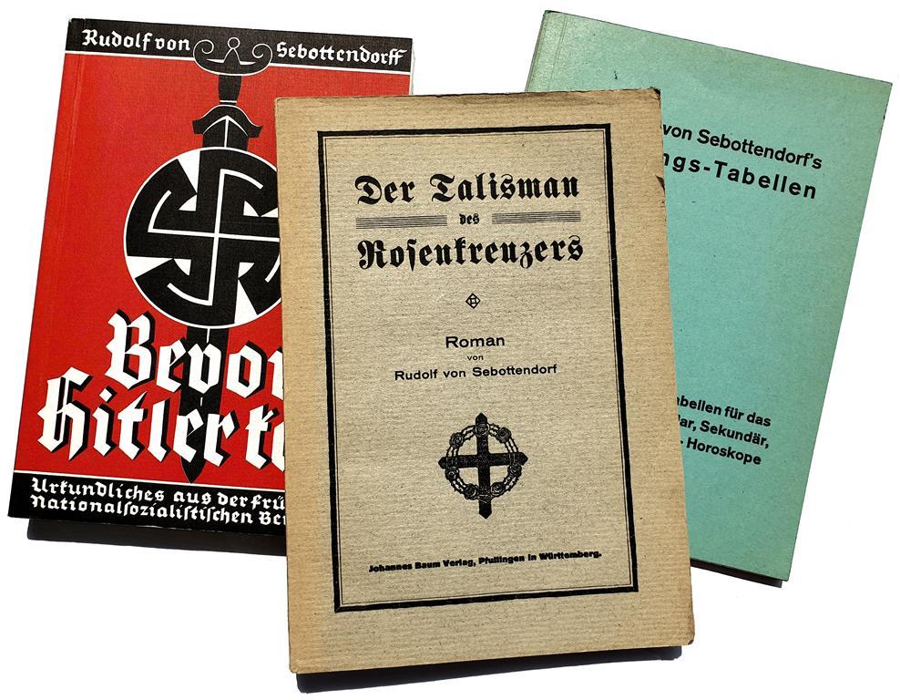 Rudolf von Sebottendorff, Bevor Hitler Kam, Der Talisman des Rosenkreuzers, Deutungs-Tabellen