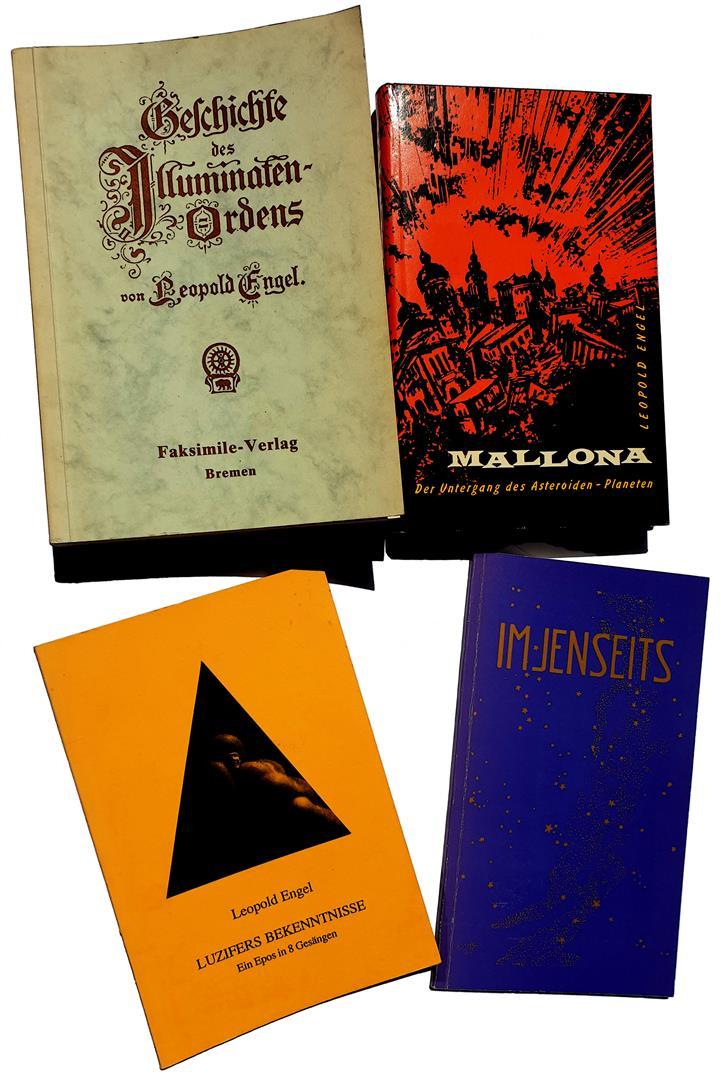Leopold Engel — Illuminati — Geschichte des Illuminaten Orden — Mallonia — Luzifers Bekenntnisse — Im Jenseits