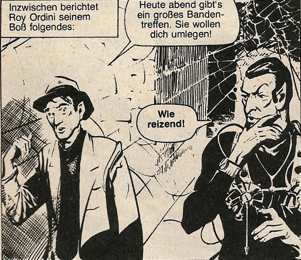 Kobra Comic-Heft Nr. 25, Zug (Schweiz) 1977 - Spiderman 1