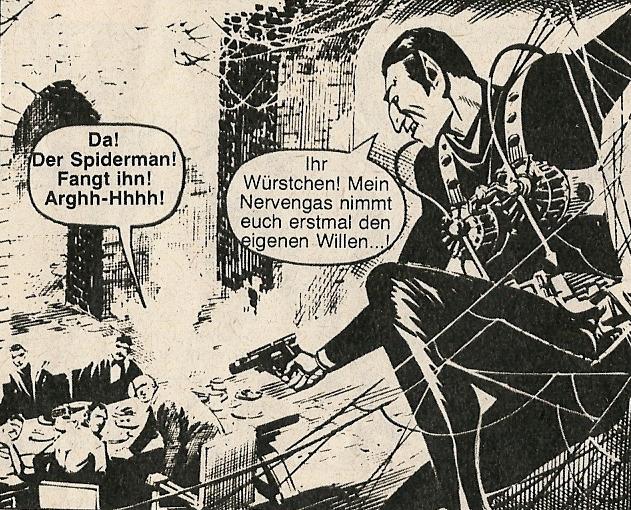 Kobra Comic-Heft Nr. 25, Zug (Schweiz) 1977 - Spiderman 2