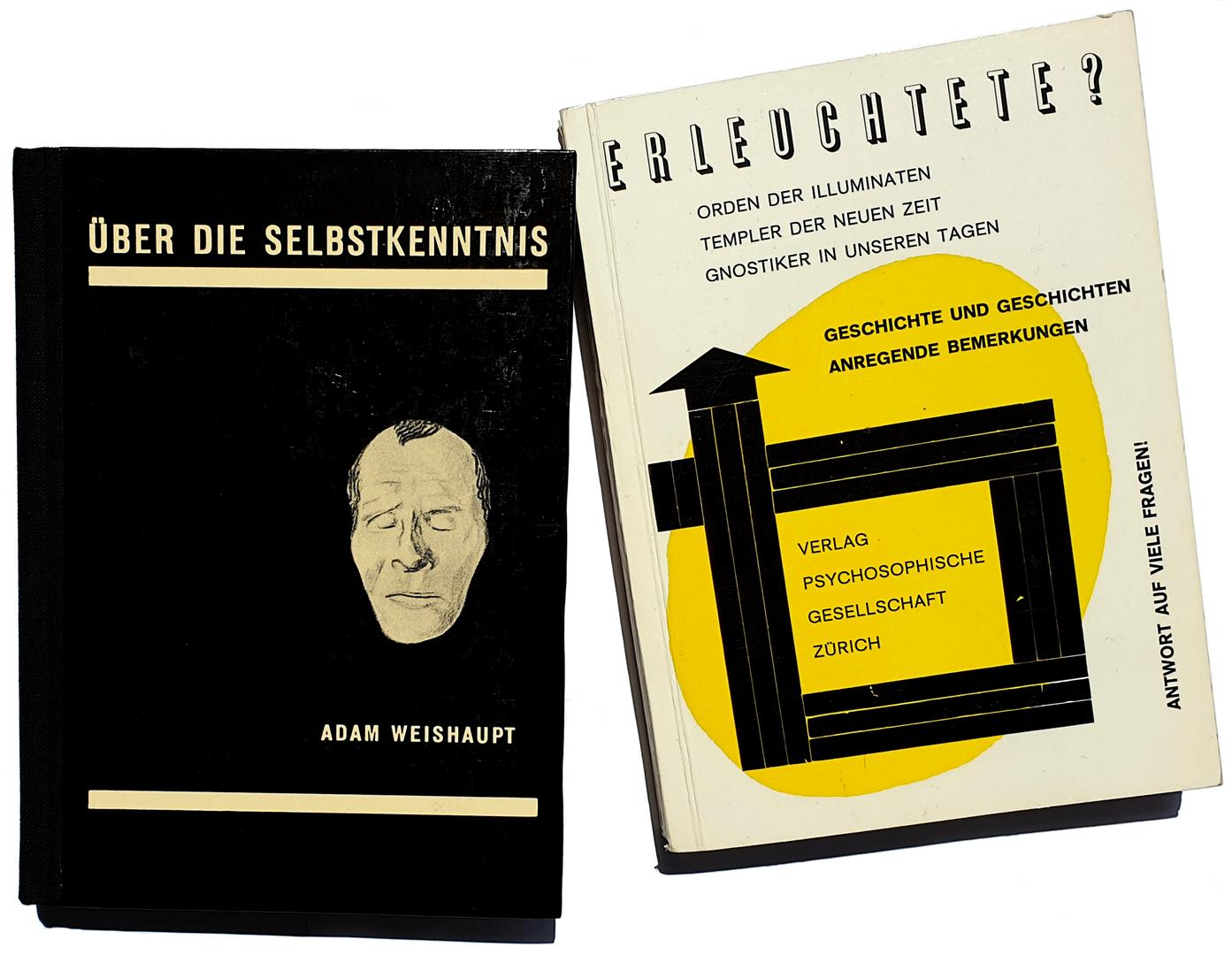 Psychosophische Gesellschaft - Adam Weishaupt Ueber die Selbstkenntnis - Erleuchtete Orden der Illuminaten Templer der Neuen Zeit Gnostiker