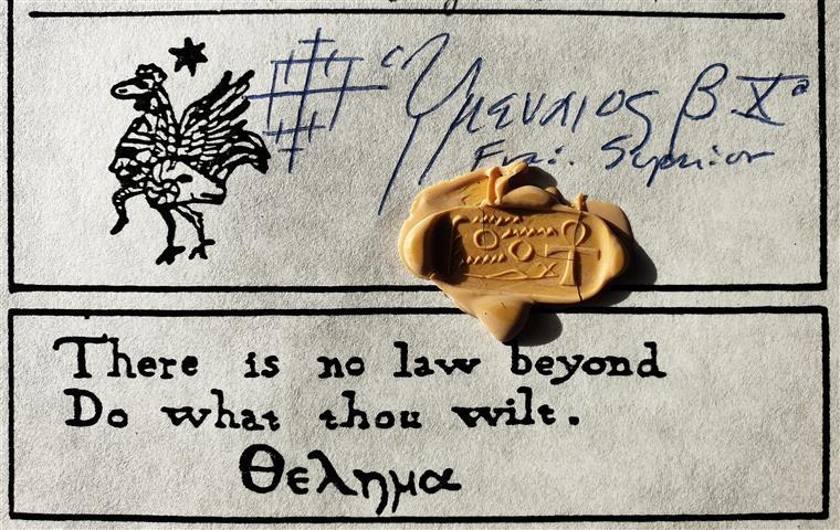 Baphomet seal in the Ordo Templi Orientis