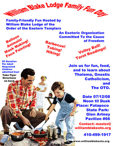 Ordo Templi Orientis family friendly