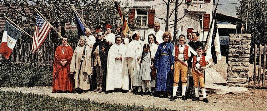 Ordo Templi Orientis Switzerland Stein Appenzell Illuminati Gnostic Catholic Church Fraternitas Rosicruciana Antiqua