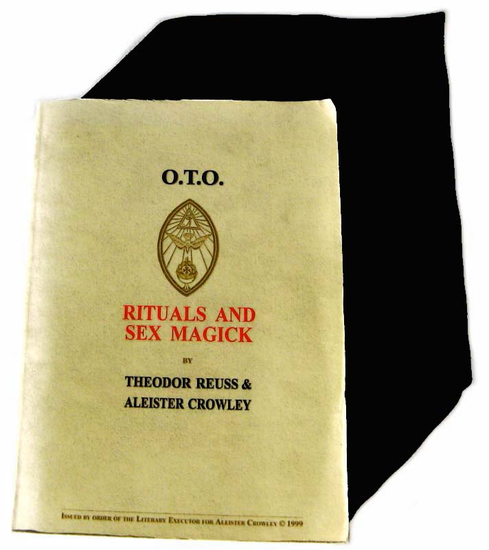 Aleister Crowley, Theodor Reuss, O.T.O. Rituals and Sexmagick, Liber LII, CLXI, CI, CXCIV,  Gnostic Neo-Christians,  IV° Lodge of Perfection, Perfect Magician, Council of Princes of Jerusalem, V° Sovereign Prince of the Rose-Croix, VI° Knights Templar of the Order of Kadosch, VII° Grand Councillor of the Mystical Templars,  De Natura Deorum, VIII° Knight of the Rose and the Cross, De Nuptiis Secretis Deorum Cum Hominibus, IX° Parsifal and the Secret of the Graal Unveiled, Agape vel Liber C vel Azoth, Amrita, Emblems and Mode of Use, Grimorium Sanctissimum, Star Sapphire, Eucharist by Clément de Saint-Marcq, Gnosticorum Missa Minor, X° De Homunculo Epistola, Hermetic Brotherhood of Light