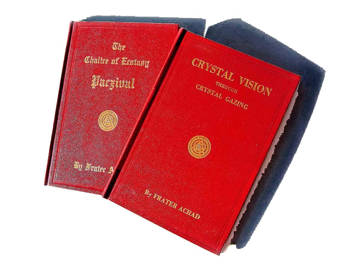 Charles S. Jones, Achad, Ordo Templi Orientis, O.T.O., Crystal Vision through Crystal Gazing, 1923, Chalice of Ecstasy Parzival, 1923