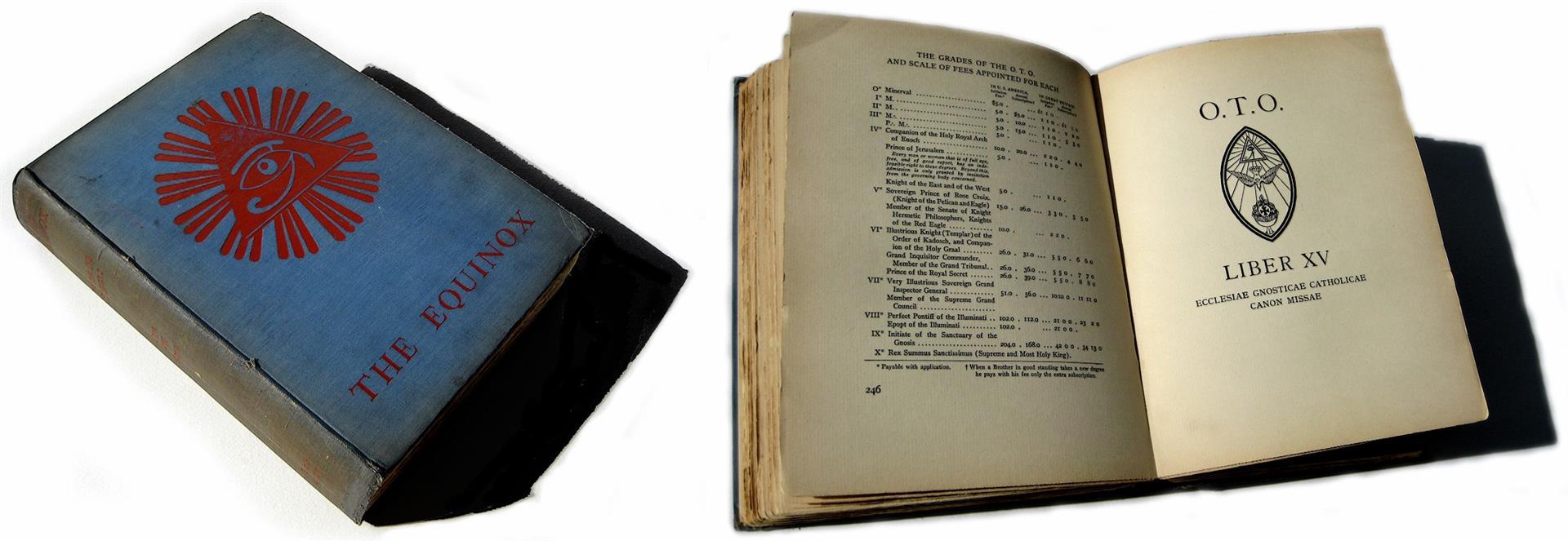 Aleister Crowley Blue Equinox Volume III, Number I Ordo Templi Orientis