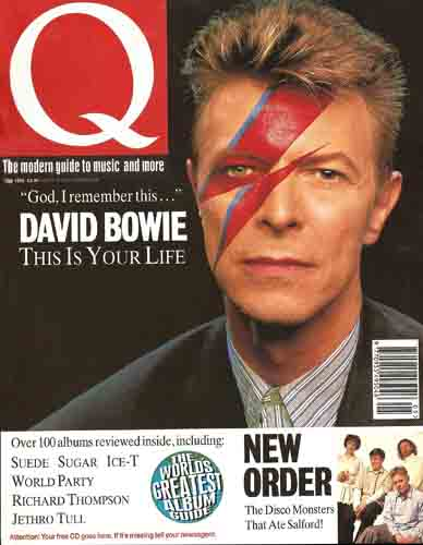 David Bowie, Q, May 1993
