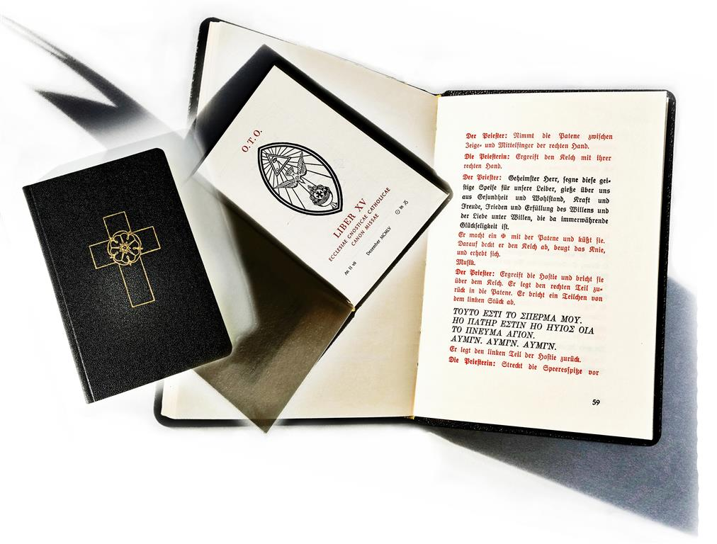 Ecclesia Gnostica Catholica — Ordo Templi Orientis — Canon Missae — Switzerland — Liber XV — Aleister Crowley