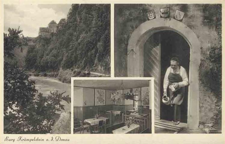 Burg Kraempelstrein an der Donau - Eduard Munninger