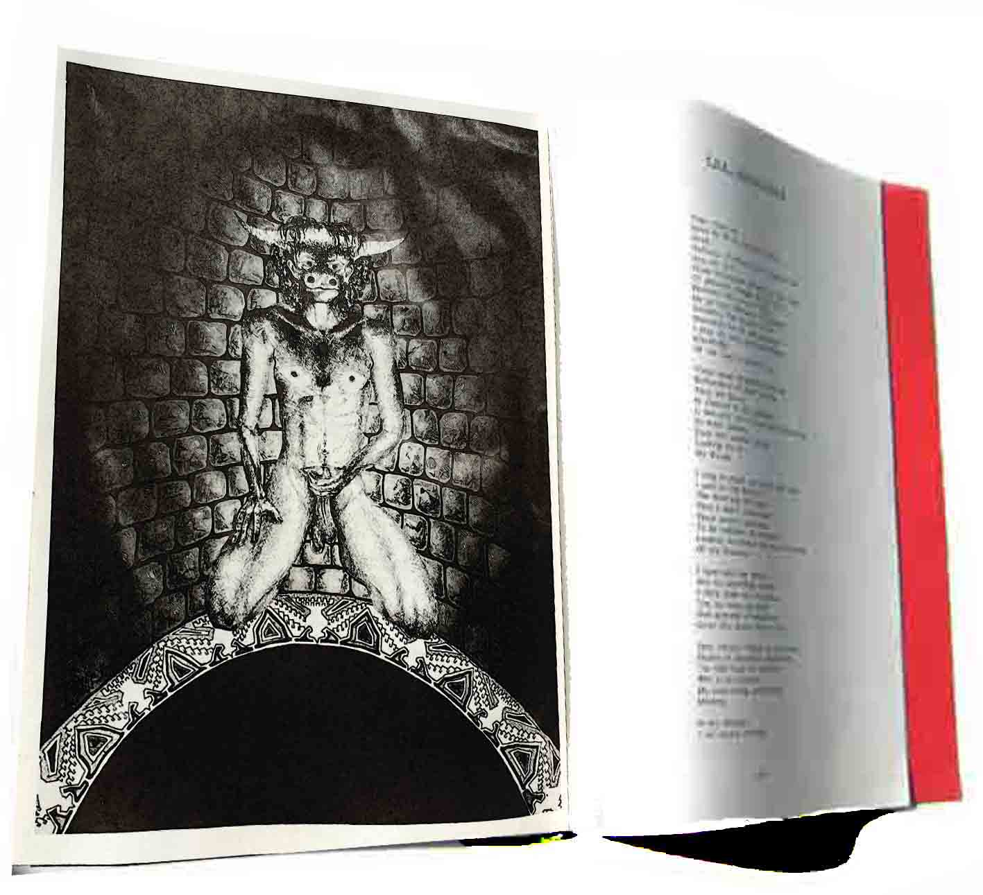 Minotaur Alastair Campbell Starfire Vol I, No.1 April 1986 Typhonian Ordo Templi Orientis Poem Ann Campbell