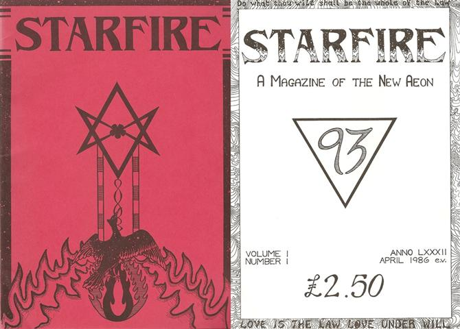 Starfire - Magazine of the Typhonian Order - 1-1