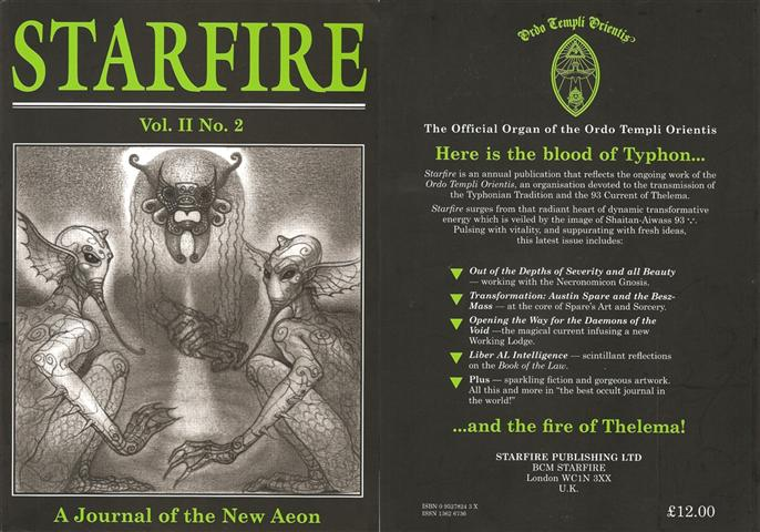 Starfire - Magazine of the Typhonian Order - 2-2