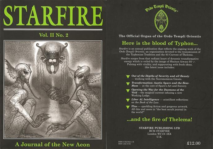 Starfire - Magazine of the Typhonian Order - 2-2