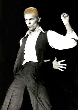 David Bowie Hitler 1976 Nazi Nazism Prime Minister Fascism