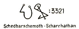 Schedbarschemoth–Scharrhathan 3321