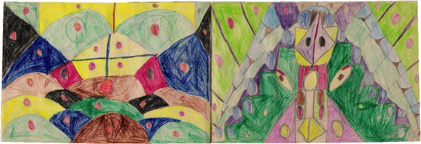 Peter-Robert Koenig Drawings 1965