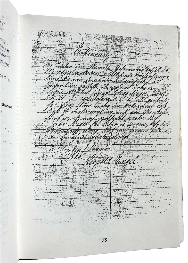 Leopold Engel Maximilian Haitz Illuminaten Orden Illuminati