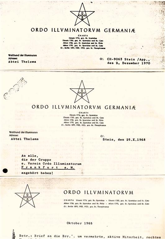 Ordo Illuminatorum Germaniae Stein Appenzell