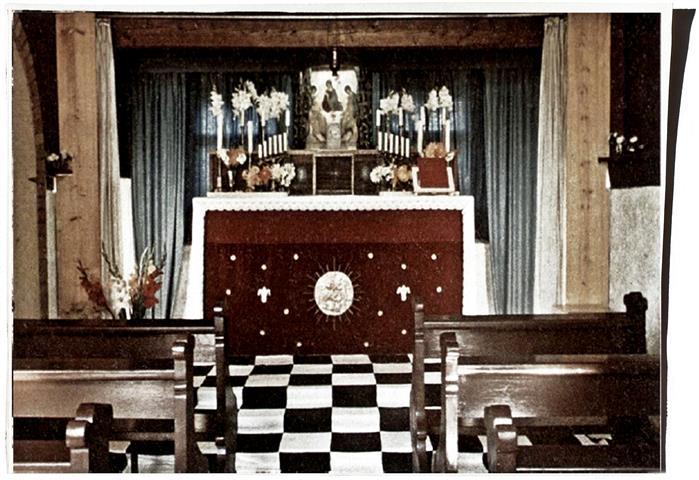 Swiss Ordo Templi Orientis Altar Maria and Jesus