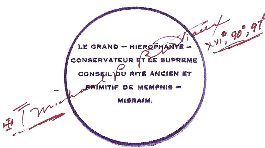 Michael Paul Bertiaux Ordo Templi Orientis Antiqua Gnostic Church Memphis Misraim Monastery of the Seven Rays La Couleuvre Noire