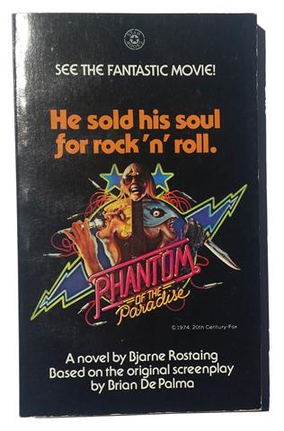 Bjarne Rostaing Phantom of the Paradise