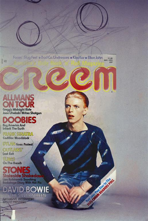 creem December 1975 David Bowie Tree of Life Steve Schapiro